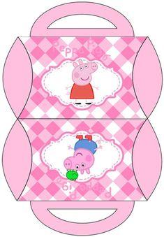 Peppa Pig Printables, George Pig Party, Peppa Pig Party Supplies, Pig Png, Aniversario Peppa Pig, Cumple Peppa Pig, Pig Birthday Cakes, Birthday Bash, Pig Crafts