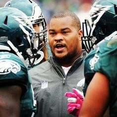 Former Philadelphia Eagles RB/current RB Coach Duce Staley