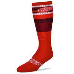 Detroit Red Wings Rainbow Tube Socks - Multi