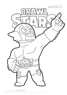 fise de colorat brawl stars - Căutare Google | Star ...