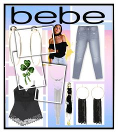 """All Laced Up for Spring with bebe: Contest Entry"" by adigeeva ❤ liked on Polyvore featuring Bebe and alllacedup"