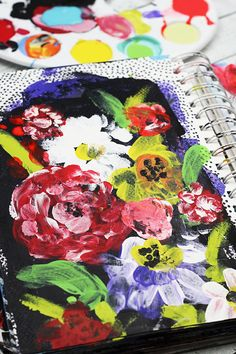 I spent A LOT of time sketching but I probably spend just as much time working in an art journal. My art journal is a place for me to...