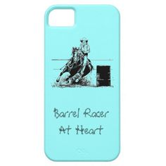 Barrel Racer At Heart by WoofNWhinny* Cell Phone Cases #barrelracing #horse #rodeo #cowboy #cowgirl