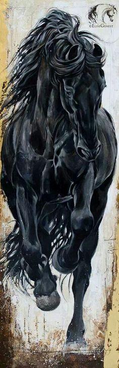 Horse art @Stephani Nelson Nelson Lovelady: