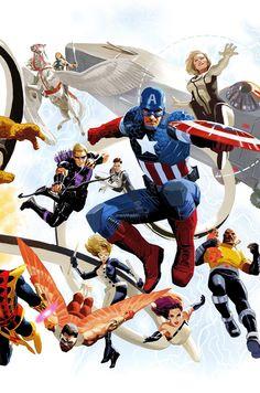 Avengers #14 50th Anniversary Variant - Daniel Acuna