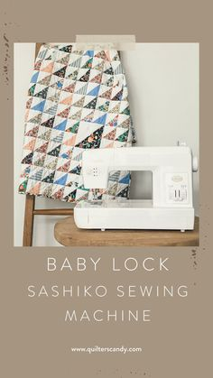 Watch as Elizabeth of Quilters Candy shares what the Baby Lock Sashiko Sewing Machine can do. Quilting Tips, Quilting Tutorials, Hand Quilting, Quilting Projects, Baby Lock Sewing Machine, Shabby Chic Curtains, Quilt Patterns Free, Fabric Squares, Fabric Scraps