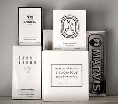 The simplicity of black and white packaging is so appealing in our overwhelming of information.
