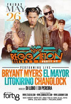 NYC Reggaeton Party #2 - http://fullofevents.com/newyork/event/nyc-reggaeton-party-2/