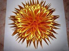 DIY Crafts : DIY satin ribbon flower