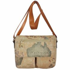 Map of the World Map from Old Postcards Tote Bag  World The