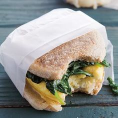 Egg Sandwiches with Wilted Spinach | Williams-Sonoma