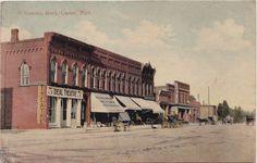 https://flic.kr/p/L9RdV3 | SE Lapeer MI c.1906 Downtown Stores and Businesses…