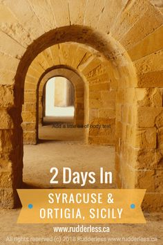 2 Days In Syracuse