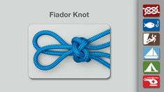 Fiador Knot - learn how to tie the Fiador Knot in a simple step-by-step video.   By AnimatedKnots.com - the world's #1 knot site.