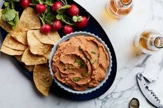 Creamy Pinto Bean Dip / Photo by Chelsea Kyle, Food Styling by Ali Nardi