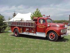Puslinch Fire & Rescue Services Antique 1951 Ford F250 Pumper with 625 gpm pump