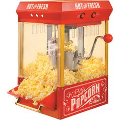 Nostalgia Electrics KPM200 Kettle Popcorn Maker- Got one like this from the parents- Buttery Popcorn and or Kettle Corn here I come!! :):)