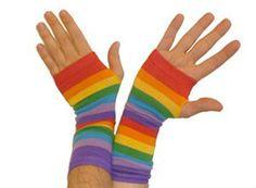Gay Pride Arm Warmers