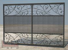 Diseño solicitado: Portón de Hierro. Gótico-Moderno