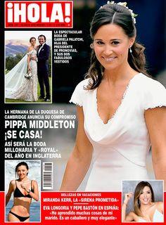 Esta semana en ¡HOLA!, Pippa Middleton se casa, todos los detalles de la que será la boda del año en Inglaterra.