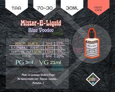 """Blue Voodoo"" от Mister-E-Liquid"
