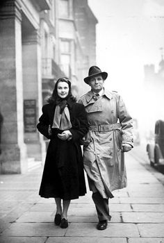Laurence Olivier and Vivien Leigh.