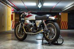 "Moto Guzzi SP1000 ""Quattrotempi"" Brat Style by Officine Rossopuro"