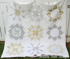 Finished Swoon Quilt by Melanie Ham Designs, via Flickr