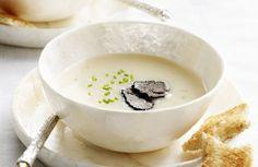 Soepje van kastanje en truffel
