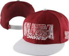 lowest price 4822e 143df Oklahoma Sooners  47 Brand Infiltrator Adjustable Snapback Flat Bill Hat by   47 Brand.