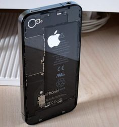totally want to mod my iPhone with the transparent backplate