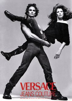 Stephanie & Marcus for Jeans Couture by Richard Avedon.