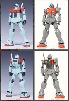 GUNDAM GUY: 1/100 RGM-79 GM (Sentinel Type) - Custom Build