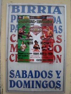 Maywood LA Boxing Posters, World Boxing, Album, Santa Cruz, Card Book