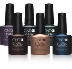 Winter Shellac Colours