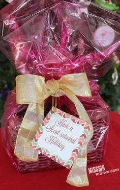 Lumps of coal treats recipe plus free printable gift tags for your have a scentsational holiday gift basket idea free printable gift tagsfree negle Gallery