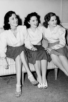 Judy Garland and her sisters.