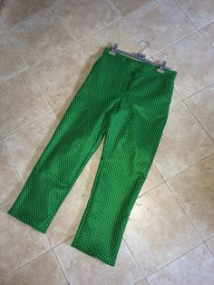 Pantaloni da uomo interamente realizzati da me. Handmade