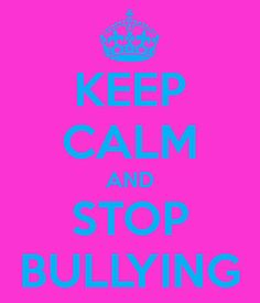 Stop Bullying. Please.
