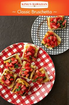 Just like movies, sometimes the classics are all we need. This bruschetta recipe will be one we'll never forget.