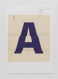 Adrian Frutiger   |  A-Schrift/Typografie
