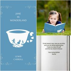 Alice in Wonderland Book, HardBack (Personalize) Alice In Wonderland Book, Personalized Books For Kids, Lewis Carroll, Character Names, Inspiration For Kids, Classic Books, All About Time, Books To Read, Characters