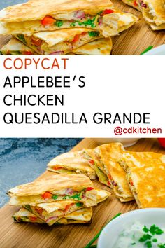Made with bacon, cilantro, onion, tomato, jalapeno pepper, shortening, flour tortillas, chipotle pepper sauce, grilled chicken, lettuce, sour cream, green onion, salsa, Jack and Cheddar cheeses | CDKitchen.com