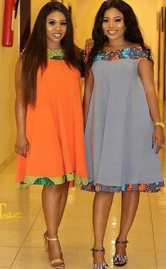 - Source by enagie - African Dresses For Kids, African Maxi Dresses, Latest African Fashion Dresses, African Print Fashion, Look Fashion, Skirt Fashion, Fashion Outfits, Moda Afro, African Print Dress Designs