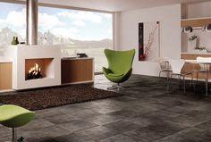 Tmavé podlahy představují teplou eleganci