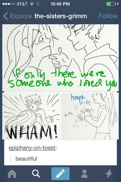 The sisters grimm and frozen crossover! Hahaha!