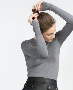 Image 3 of ROUND NECK SWEATER from Zara