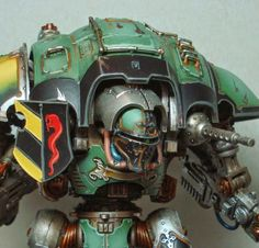 Spikey Bits Warhammer 40k, Fantasy, Conversions and Painted Miniatures: Devil in Disguise - Catachan Knight Titan