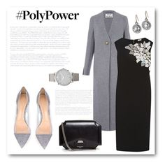 """""""What's Your Power Outfit?"""" by bliznec ❤ liked on Polyvore featuring Acne Studios, Loewe, Gianvito Rossi, Givenchy, Monica Rich Kosann, Larsson & Jennings and PolyPower"""