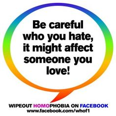 Truth.. stop the hate..